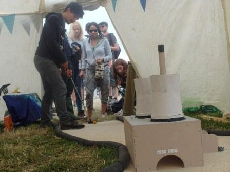 """Whole in One"" crazy golf at Glastonbury Festival 2013"