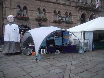 Renewables display in Chester