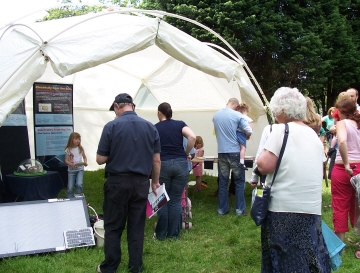 eco dome at knowsley green fayre