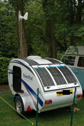 renewable power pod trailer