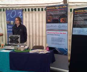 PV exhibits at Knowsley Green Fayre